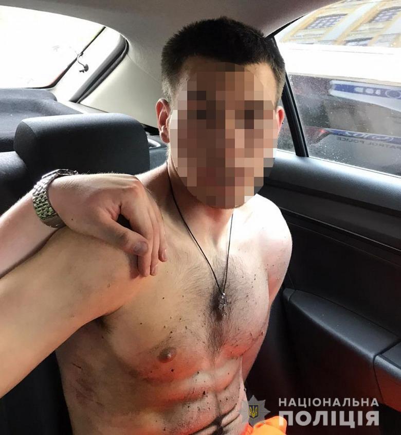 Задержание злоумышленника, который проник в резиденцию посла ЮАР
