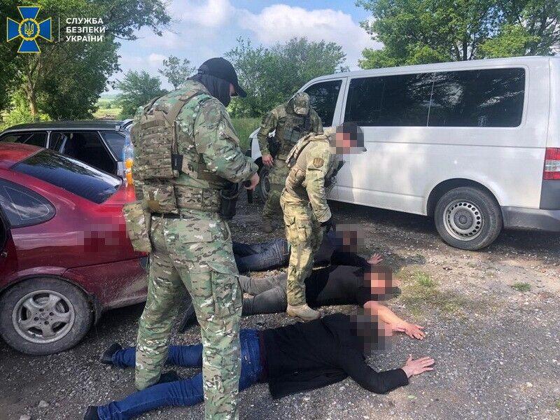 Задержание руководителей полиции Павлограда