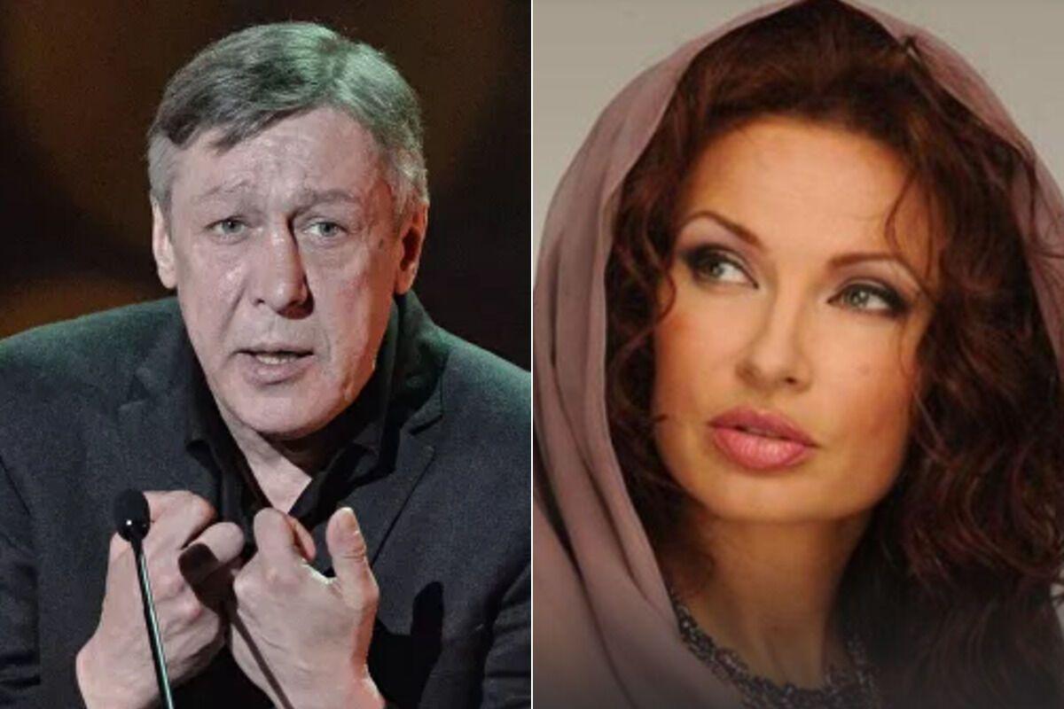 Михайло Єфремов й Евеліна Бльоданс