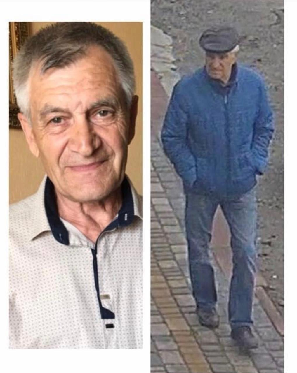 В Днепре разыскивают пропавшего без вести Виктора Гаврилова