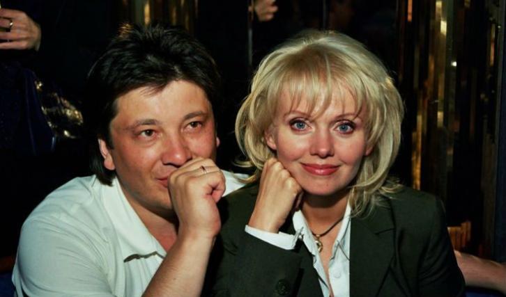 Александр Шульгин и Валерия в молодости