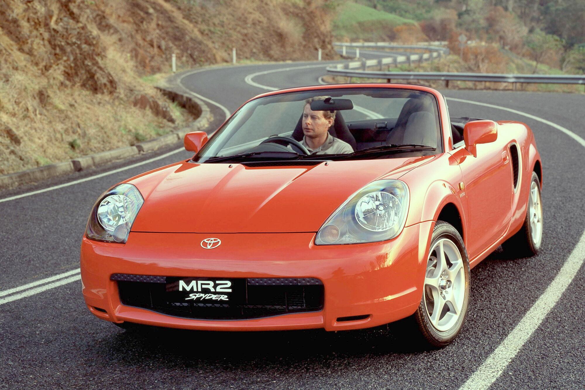 Третя генерація Toyota MR2 (1999-2007)