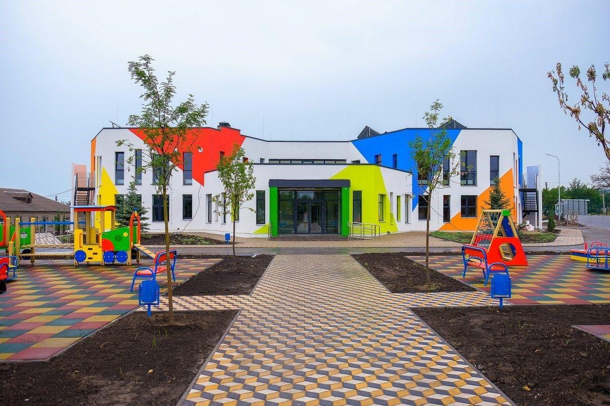 60 дитячих садків були реконструйовані, а деякі побудовані з нуля