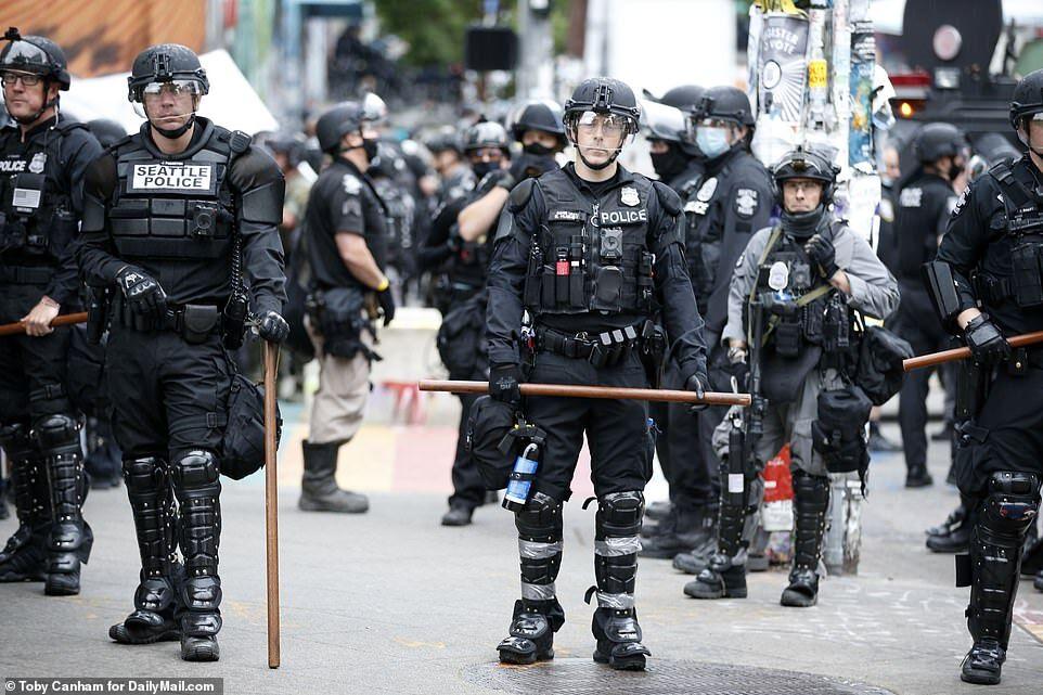 Поліція розігнала протестувальників у Сіетлі