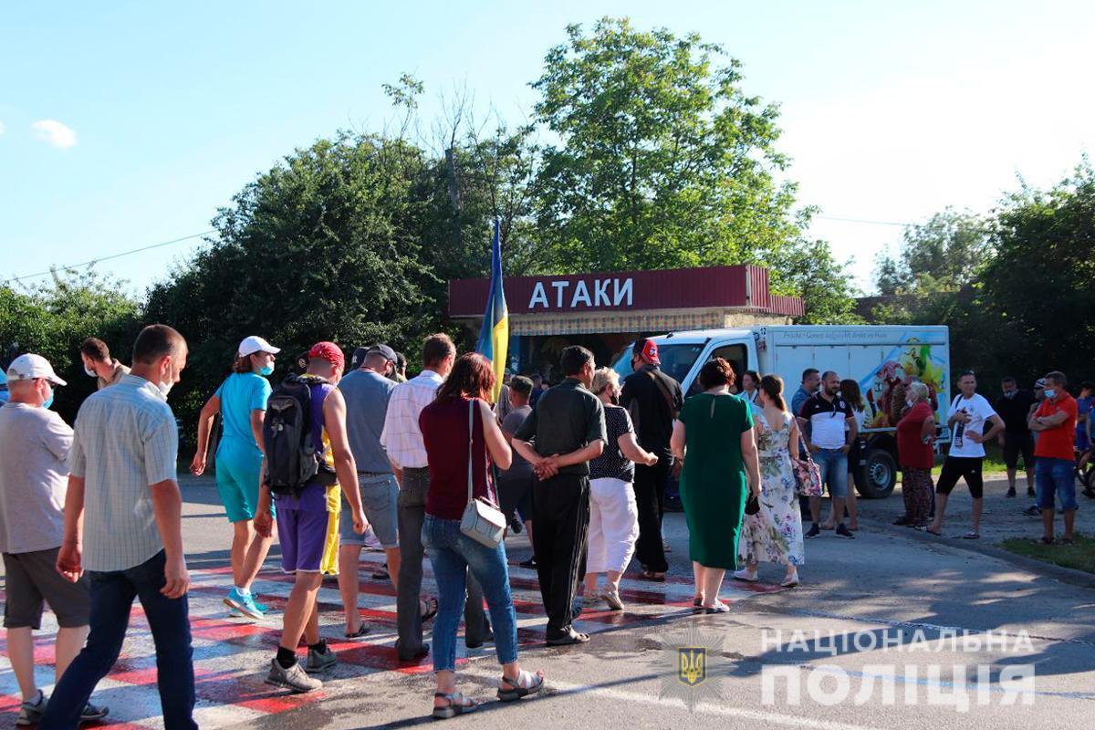 Жители села Атаки выразили недовольство решением Рады о делении районов