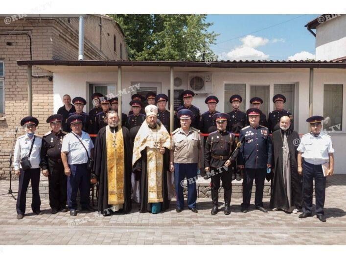 """Съезд """"казаков"""" в Мелитополе"""