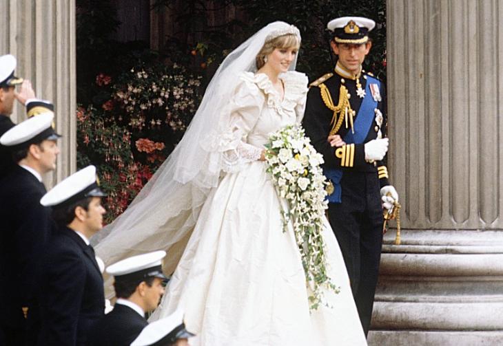 Свадьба принцессы Дианы и принца Чарльза (источник – express.co.uk)