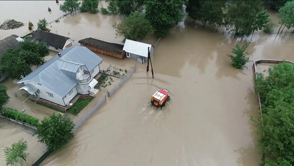 Наводнение в Украине