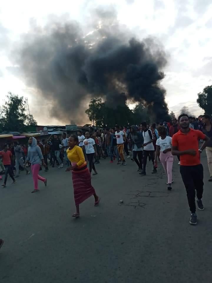 Взрывы в Эфиопии во время протестов из-за смерти певца Хачалу Хундесса