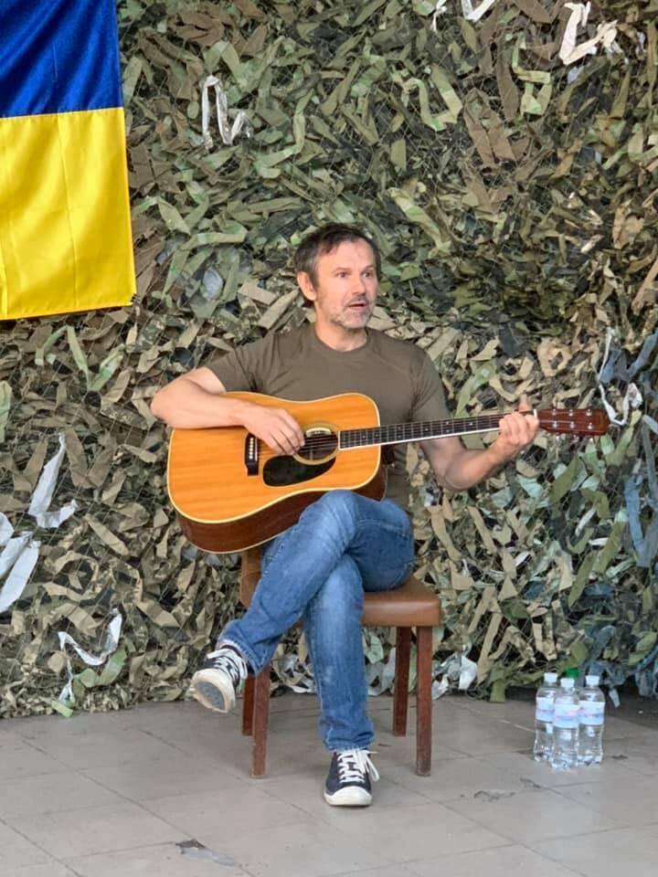 Святослав Вакарчук відправився на передову до 79 бригади