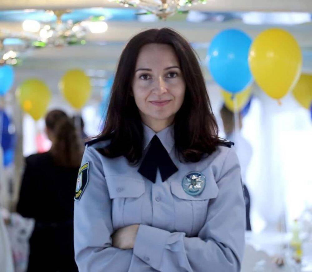 Начальниця управління ювенальної превенції Департаменту превентивної діяльності Нацполіції України Лариса Зуб.