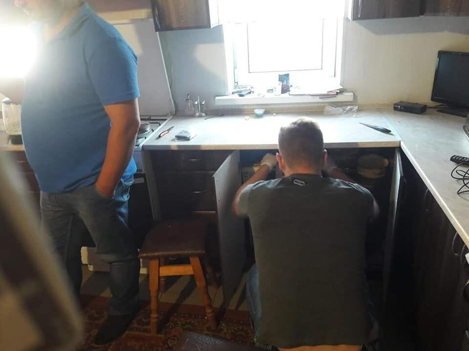 Полиция нагрянула в дом утром 10 июля