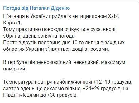 Telegram Натальи Диденко