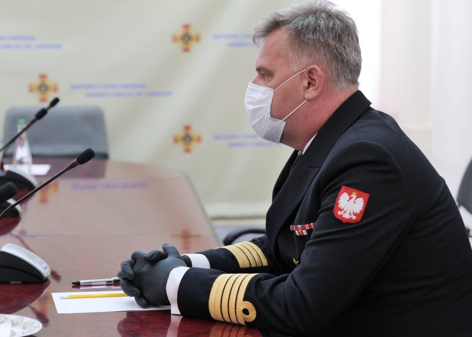 Атташе по вопросам обороны при посольстве Республики Польша в Украине Мачей Налеч
