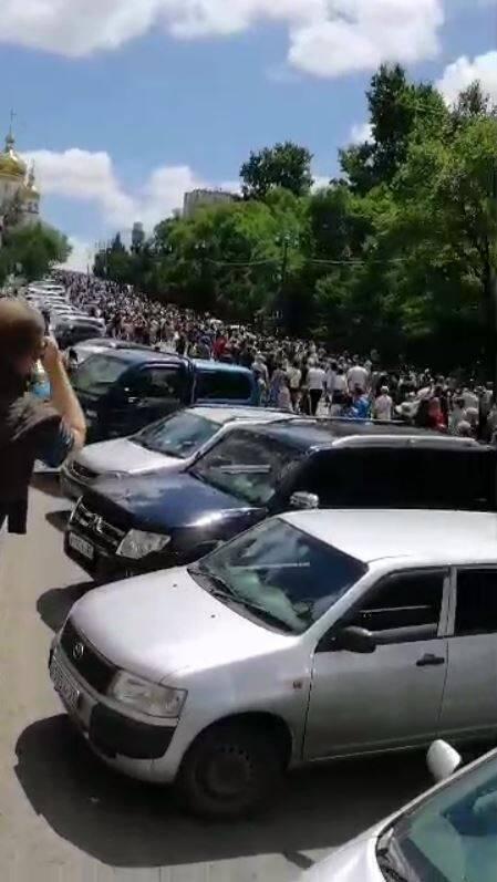 Штаб Навального в Хабаровске