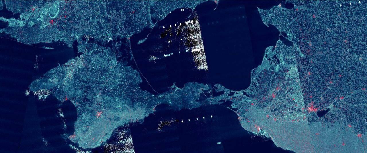 В Азовському морі помітили аномальну радіолокаційну активність