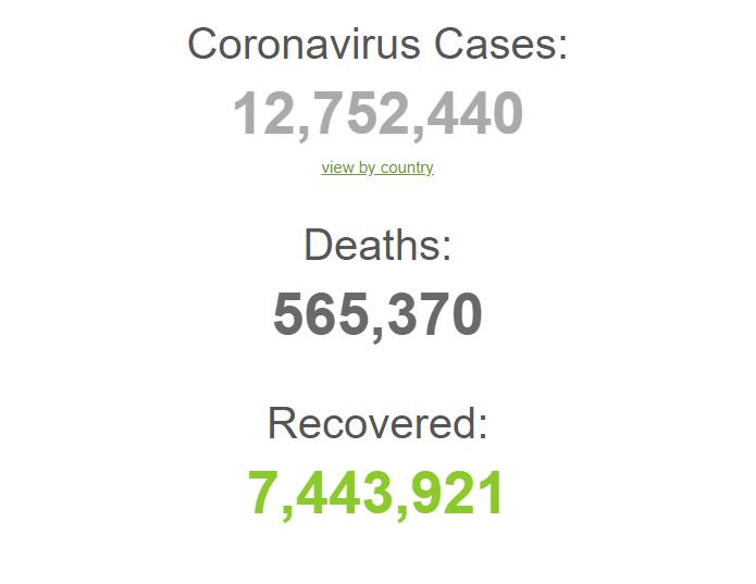 Установлен антирекорд по числу новых зараженных COVID-19 за сутки: статистика на 11 июля. Постоянно обновляется