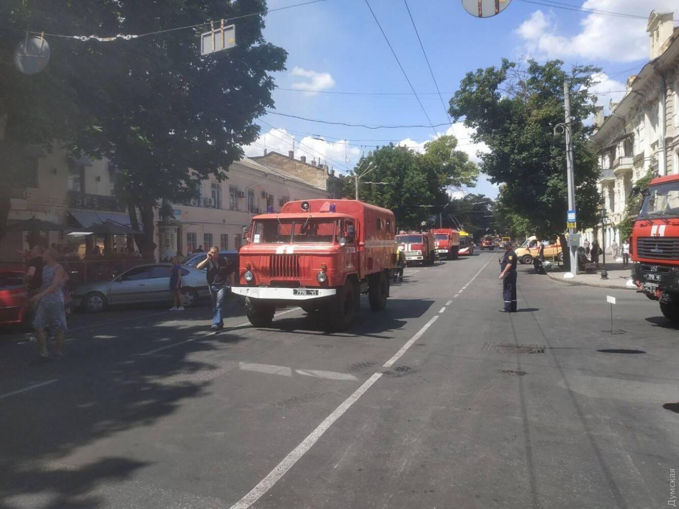 Пожарные экипажи