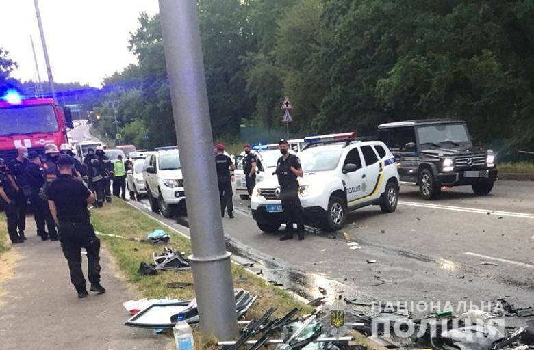 Авария на Столичном шоссе произошла 12 июля около 17:20