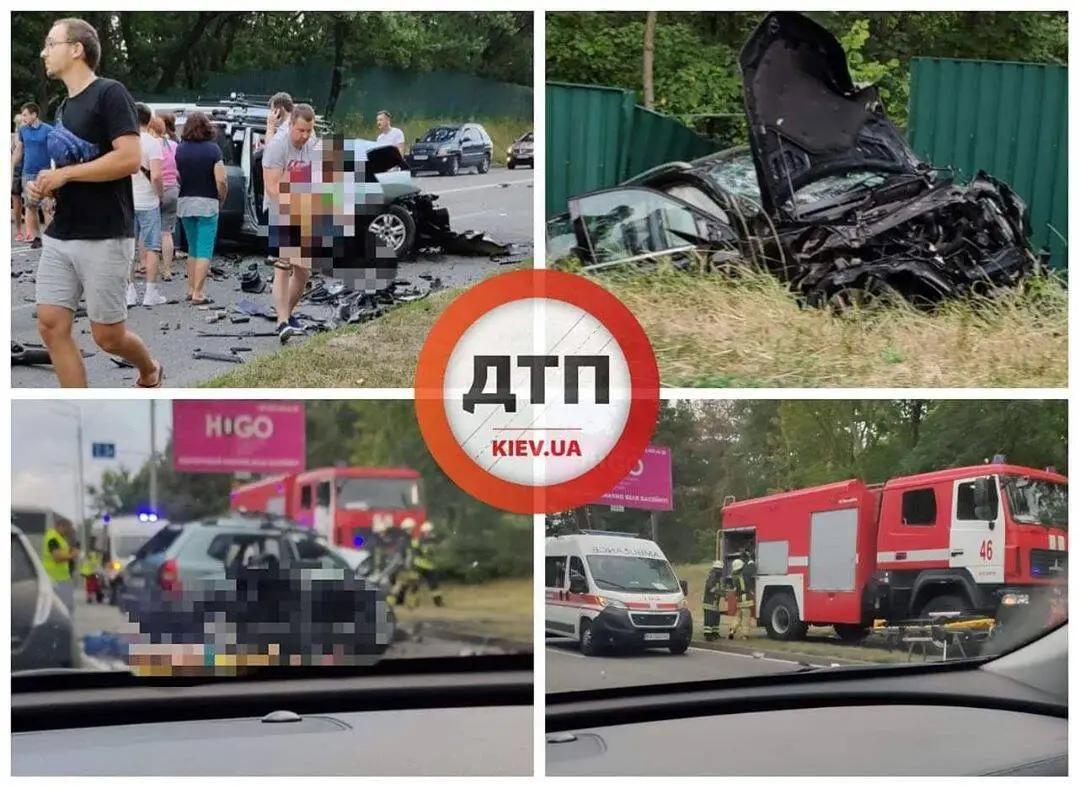 ДТП на Столичном шоссе в Киеве унесло жизни четырех человек