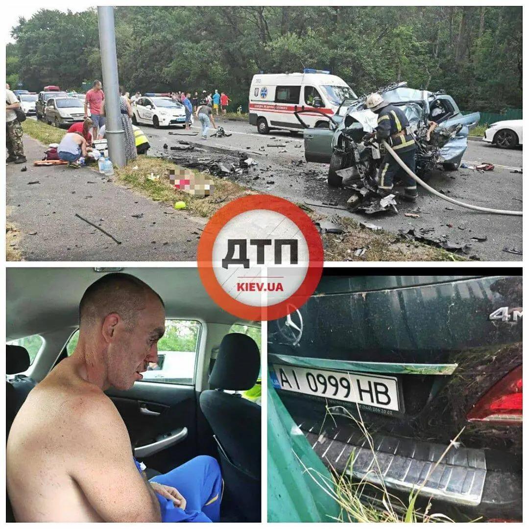 ДТП на Столичном шоссе в Киеве: за рулем находился Антон Желепа