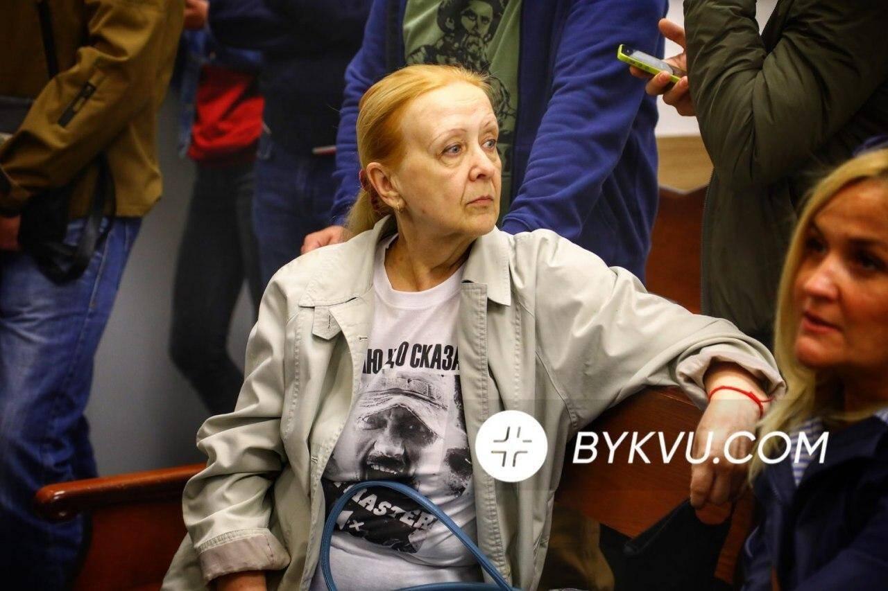 Мать Андрея Антоненко