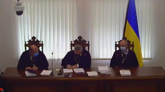 Заседание Киевского апелляционного суда по Антоненко
