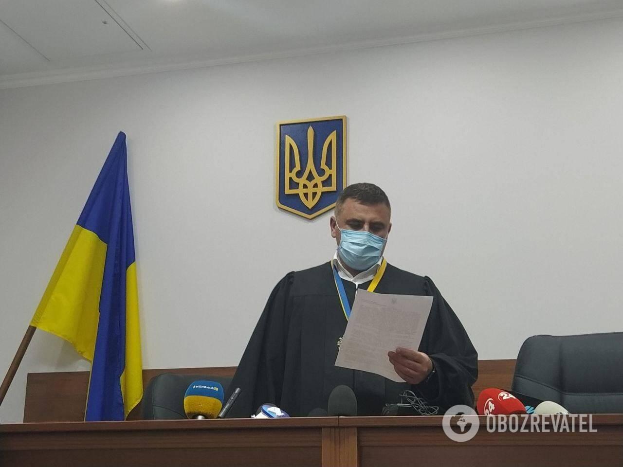 Суд арестовал подозреваемого в совершении ДТП в Киеве с четырьмя погибшими Желепу. Судья