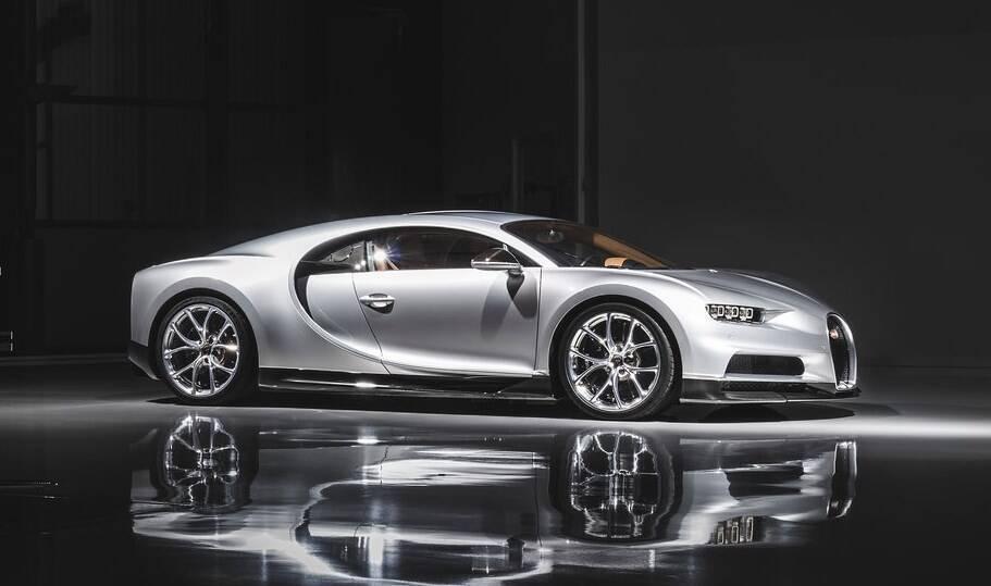 Наступник Bugatti Veyron дебютував у 2016 році