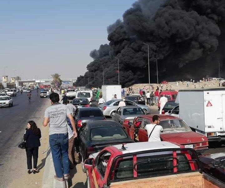 ЧП на нефтепроводе в Египте.