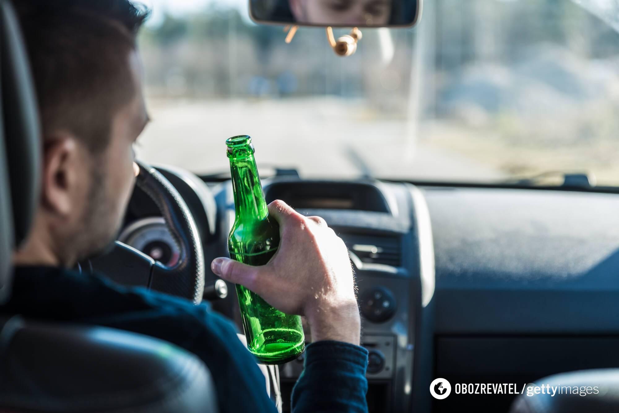 У Швеції п'яного водія очікують великі штрафи або позбавлення волі на термін до двох років