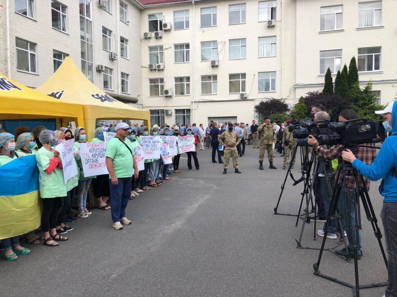"Представители ""Семок"" требуют отставки Рубана"