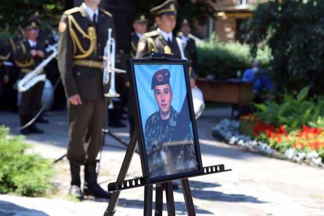Олега Шила поховали 11 липня на Берковецькому кладовищі у Києві.