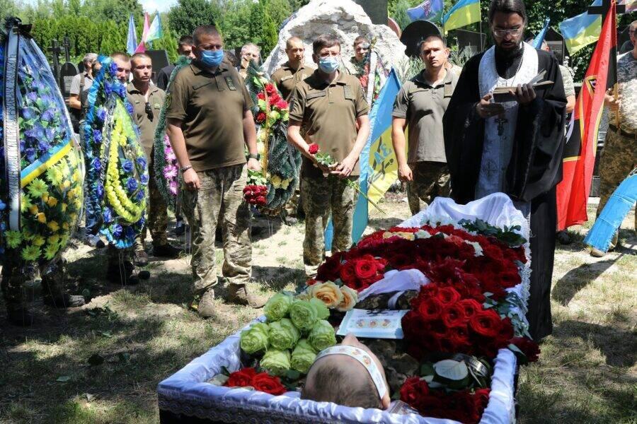 Олега Шила поховали 11 липня на Берковецькому кладовищі у Києві