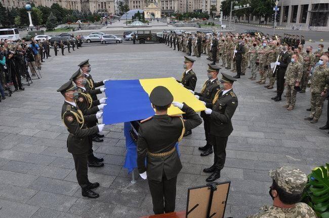 Прощання з Героєм в Києві