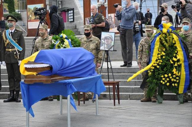 Прощання з Матвіївим в Києві