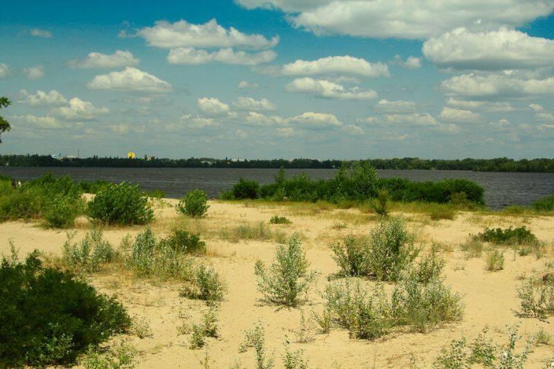 Нудистський пляж на Монастирському острові