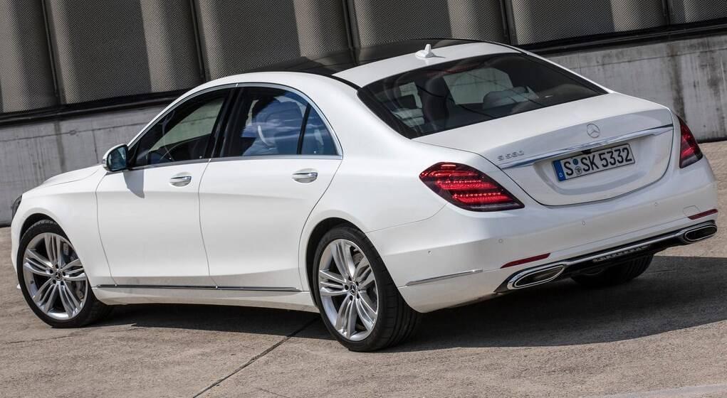 Актуальний Mercedes S-class W222.