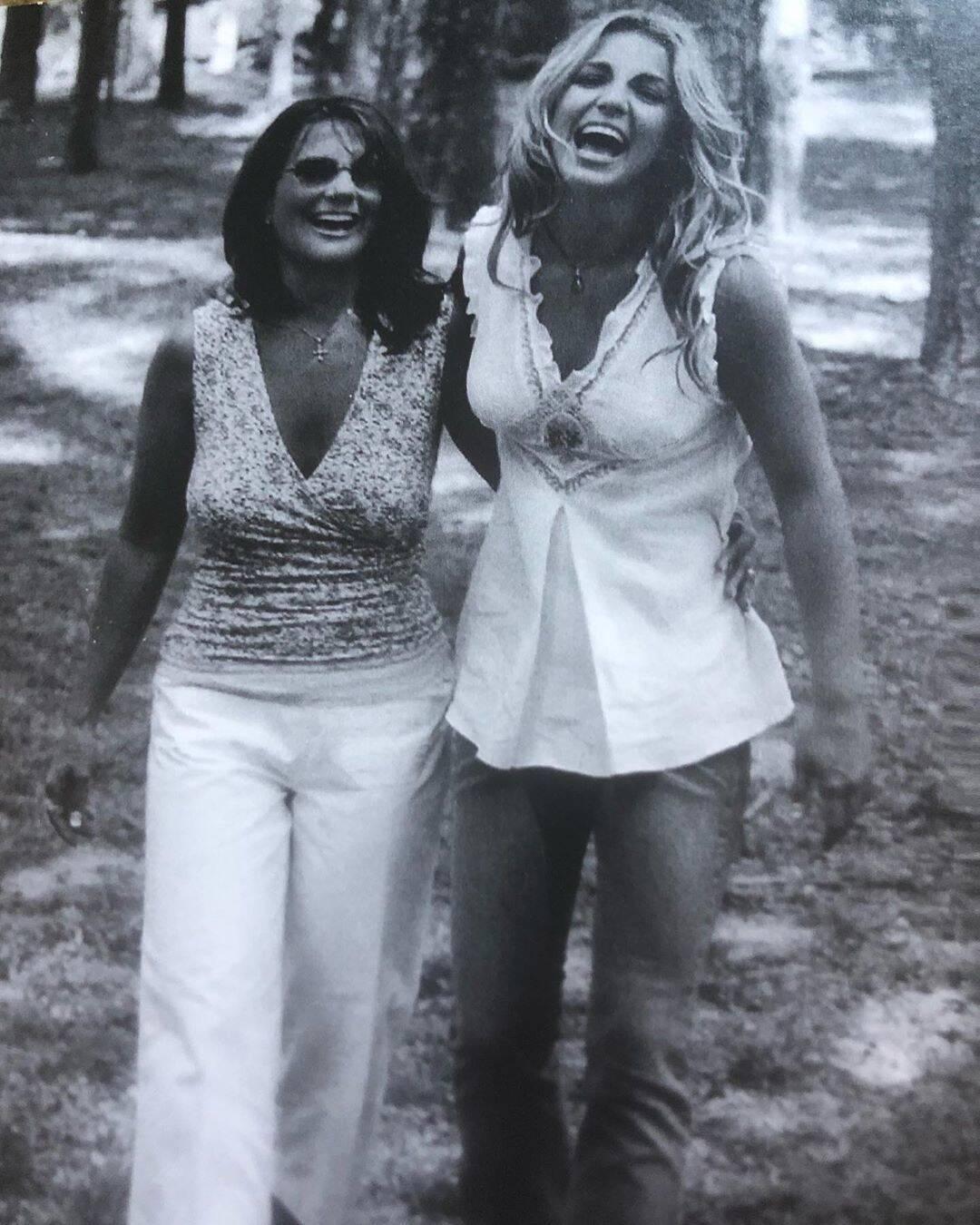 Бритни Спирс с мамой
