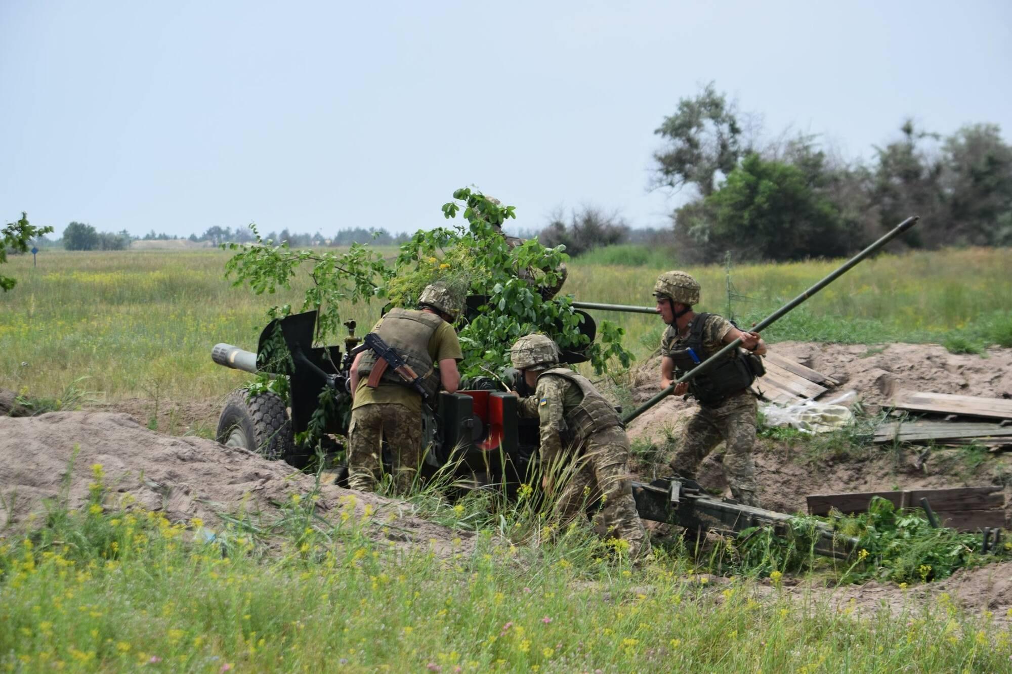 Військові відпрацювали завдання з недопущення висадки десанту під час оборони морського узбережжя