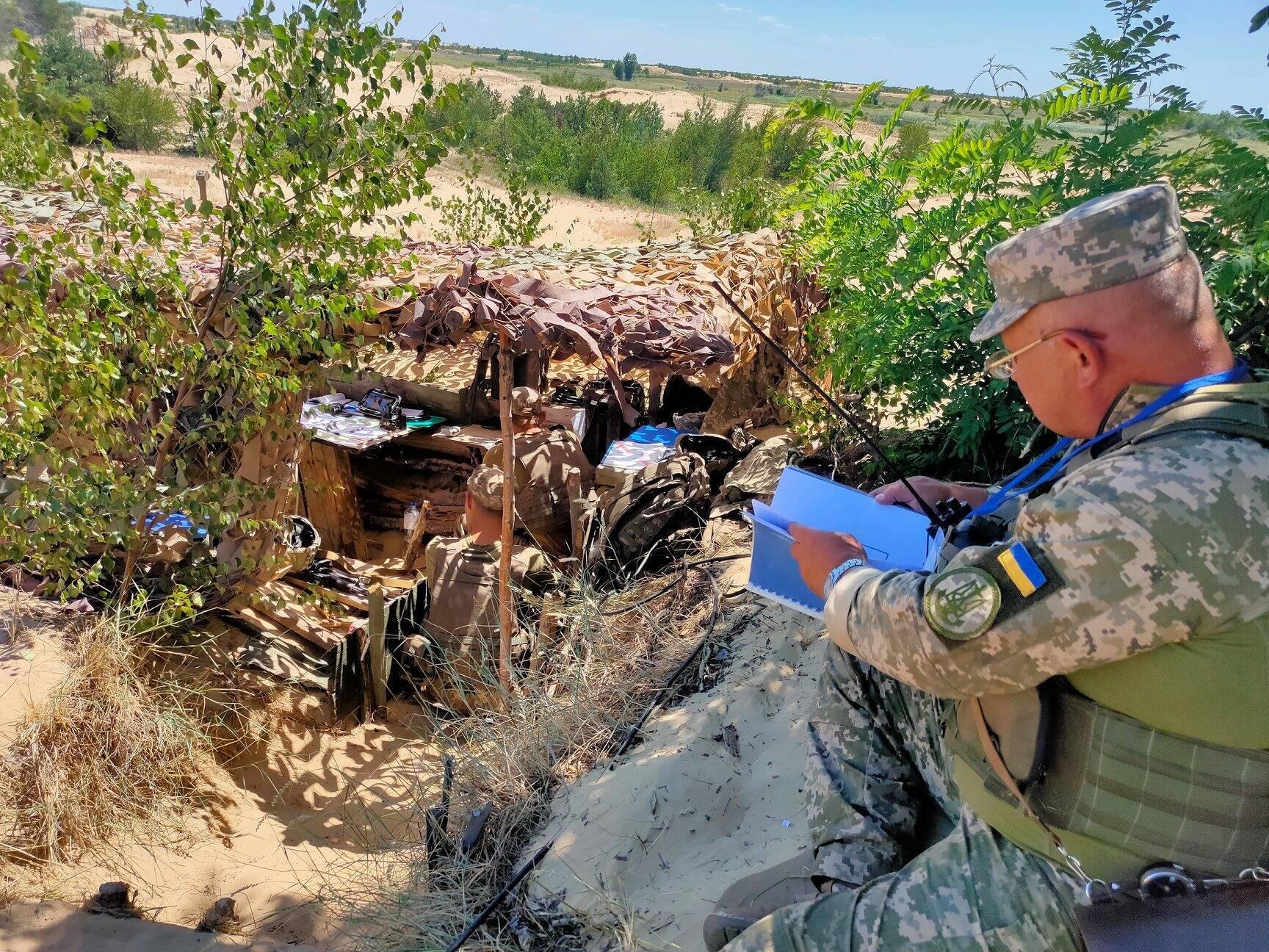 Контроль і надання допомоги під час навчань здійснювали представники Генштабу ЗСУ та ВМС України