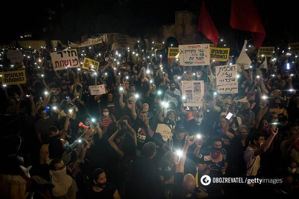 В Ізраїлі пройшов масовий протест