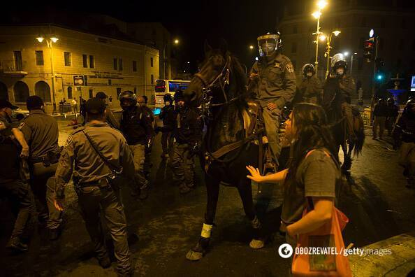 Поліція розганяла протестувальників у Єрусалимі