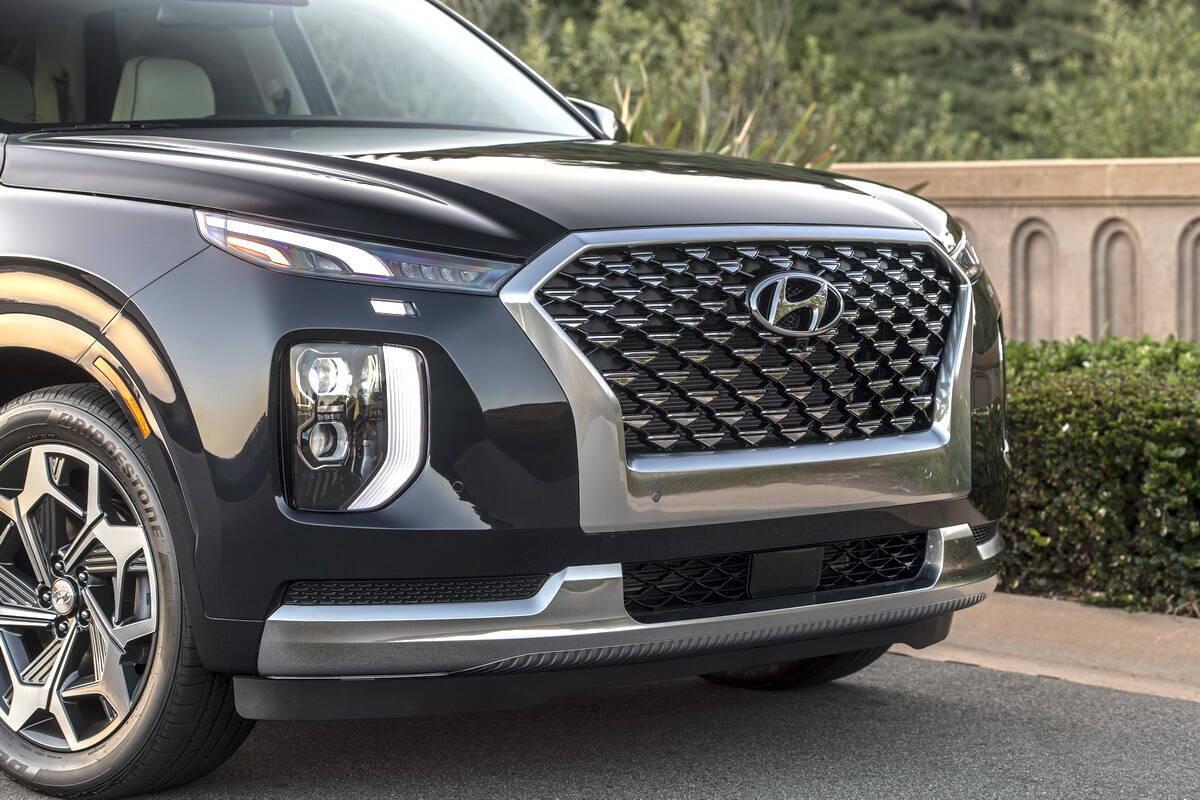 Hyundai Palisade получил топ-версию Calligraphy и новые опции. Фото: