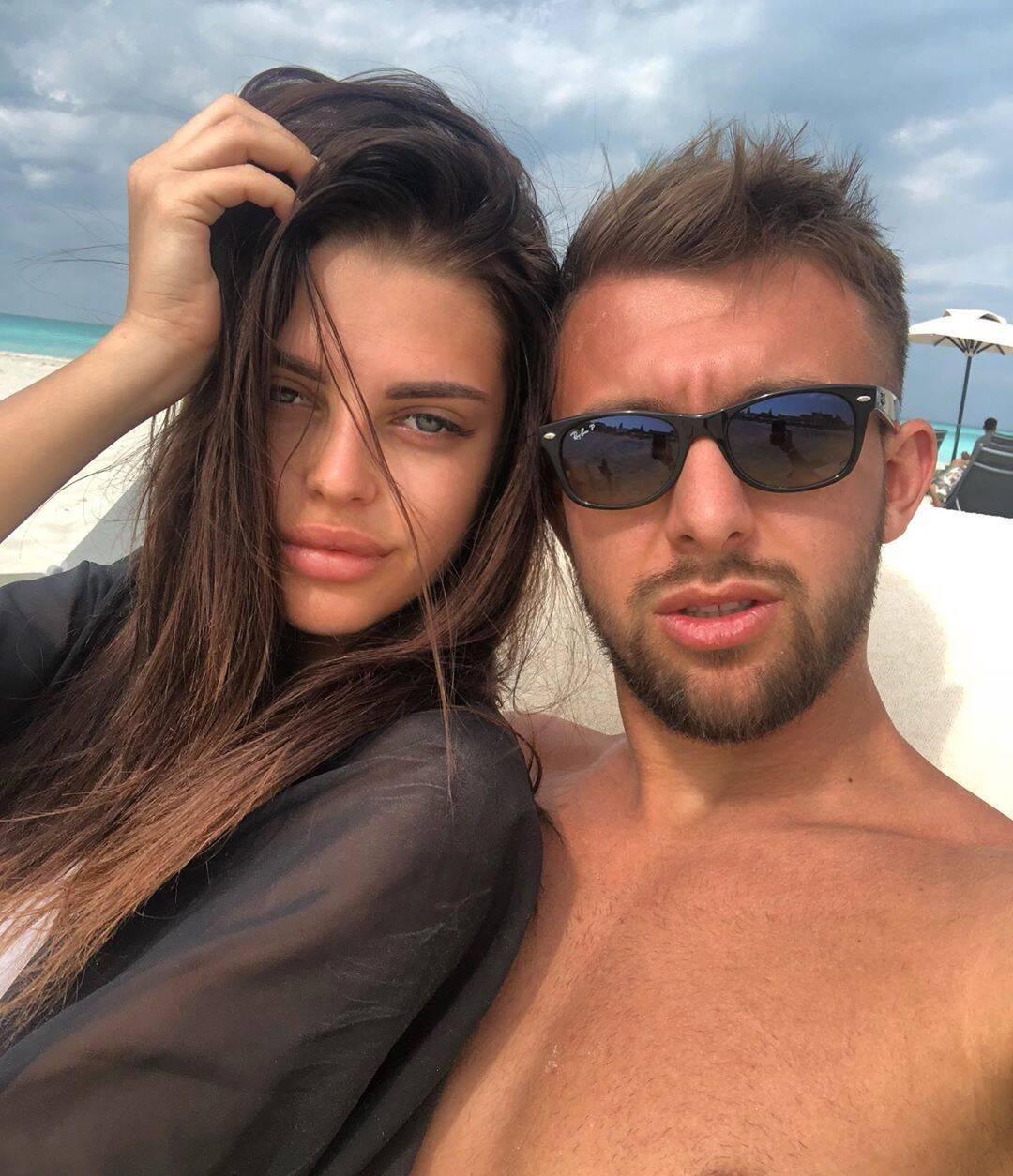 Владлен и Кристина вместе на отдыхе