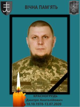 Дмитро Красногрудь підірвався на невідомому вибуховому пристрої в зоні ООС 13 липня
