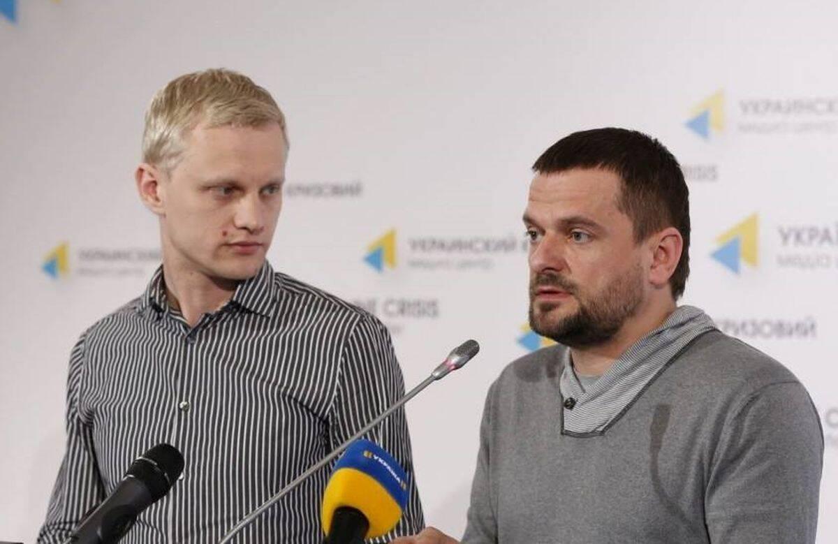 Віталій Шабунін (ліворуч) і Дмитро Шерембей (праворуч).