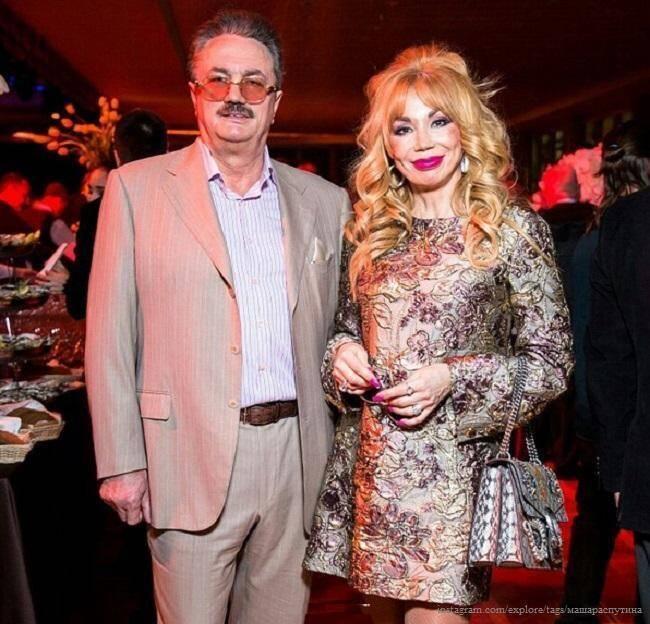 Маша Распутіна з чоловіком Віктором Захаровим