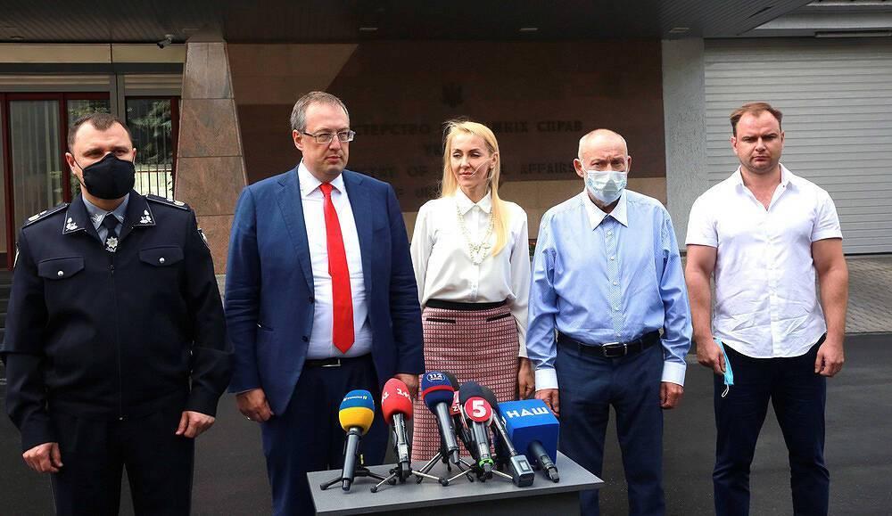 Брифінг щодо викрадення бізнесмена у Києві