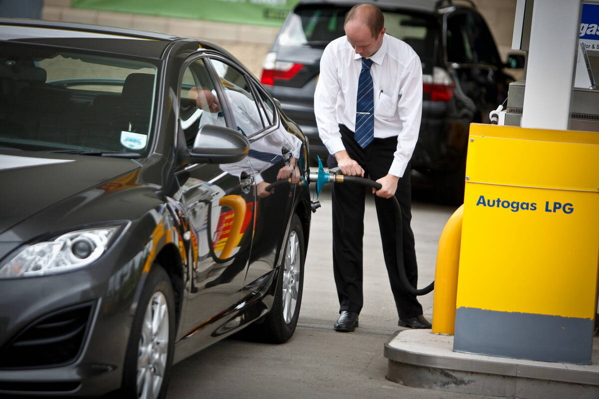 """Автомобильный газ в Украине: """"качество улучшилось, но многие грешат """"недоливом"""". Фото:"""